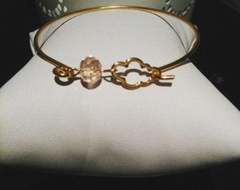 """Bracelet """"on cloud nine"""" Crystal pink"""