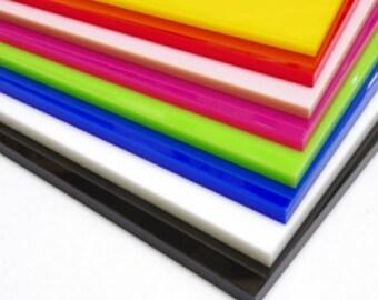 Acrylic Sheet 3mm thick - 300mm x 600mm sheet