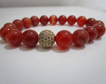 Agate fire, bracelet agate fire, bracelet, Gift for women, gift, for women, bracelet , Womens jewelry, Women sbracelet, Stone bracelet