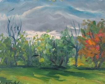 Landscape, Early Autumn