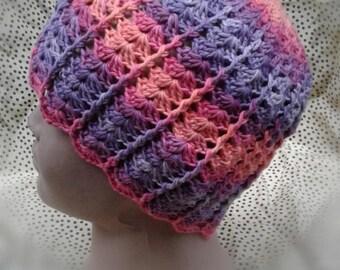 Crochet beanie, crochet hat, girl hat, baby beanie