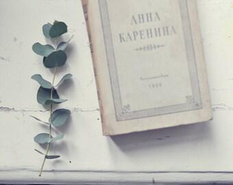 Vintage russian book - Leo Tolstoy - Anna Karenina