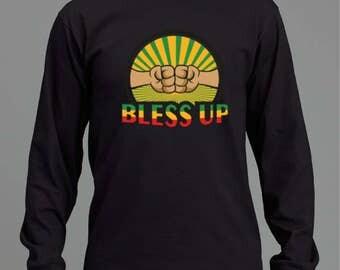 BLESS UP cool long sleeved T-shirt RLW368