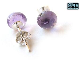 LILLA stud earring + silver