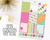 Summer Pop Kit Full Boxes | Made to fit Erin Condren Vertical Life Planner 641L3