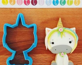 Magical Unicorn Cookie Cutter! 3D custom designed