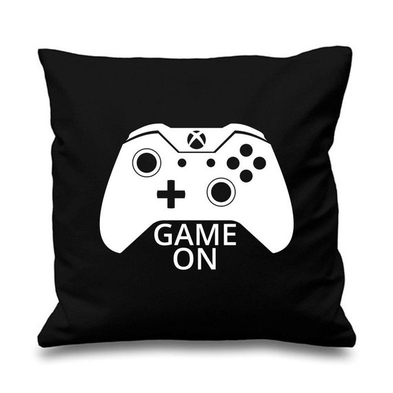 Game On Gamer Cushion Pillow Gaming Xbox Christmas Gift