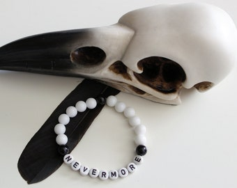 Nevermore Armband - Edgar Allan Poe - The Raven