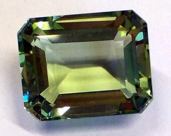 Green amethyst 19 carat
