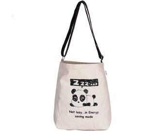 BAO Canvas eco friendly Reusable Shopping Tote Sling Bag