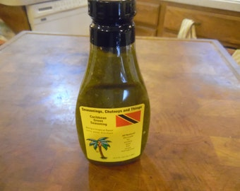 Caribbean Green Seasoning/All Natural/10.5 oz