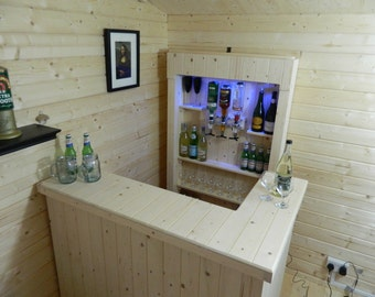 Home bar man cave summer house garden party 001 - FREE UK DELIVERY