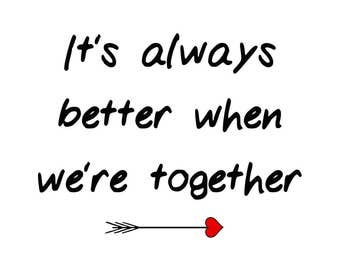 Image result for better when we're together