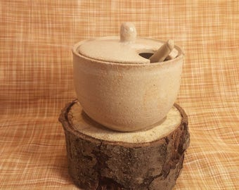 Handmade Stoneware Salt Cellar