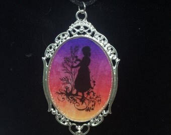 Mary's Garden Fairytale Pendant Necklace