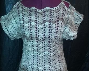 Crochet Shell Top