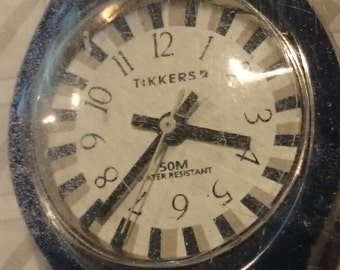 Tikkers Ladies or Childs  watch blue                                                                                                    .