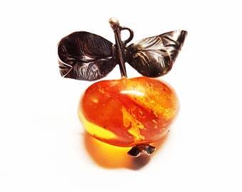 Baltic Amber Pendant, 4g