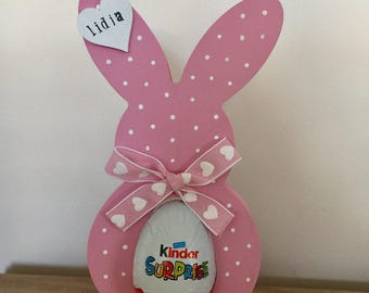 Handpainted Easter Bunny