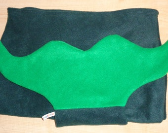 HALF PRICE Small Mermaid Tail Snuggle Blanket ~ Lapghan~ Lap Blanket~ Snuggle Sack ~ Sofa Blanket ~ Fleece  ~ 6 years & Under