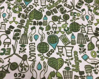 PUL fabric, diaper fabric, PUL, ecology print pul