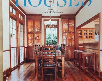 VINTAGE: FINE HOMEBUILDING Spring 1992 Special Issue on Houses No. 73