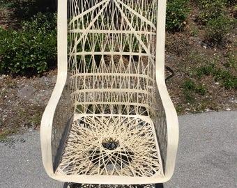 FALL SALE:Russell Woodard Spun Fiberglass Rocking Chair ~ Shipping NOT  Included But Will Assist