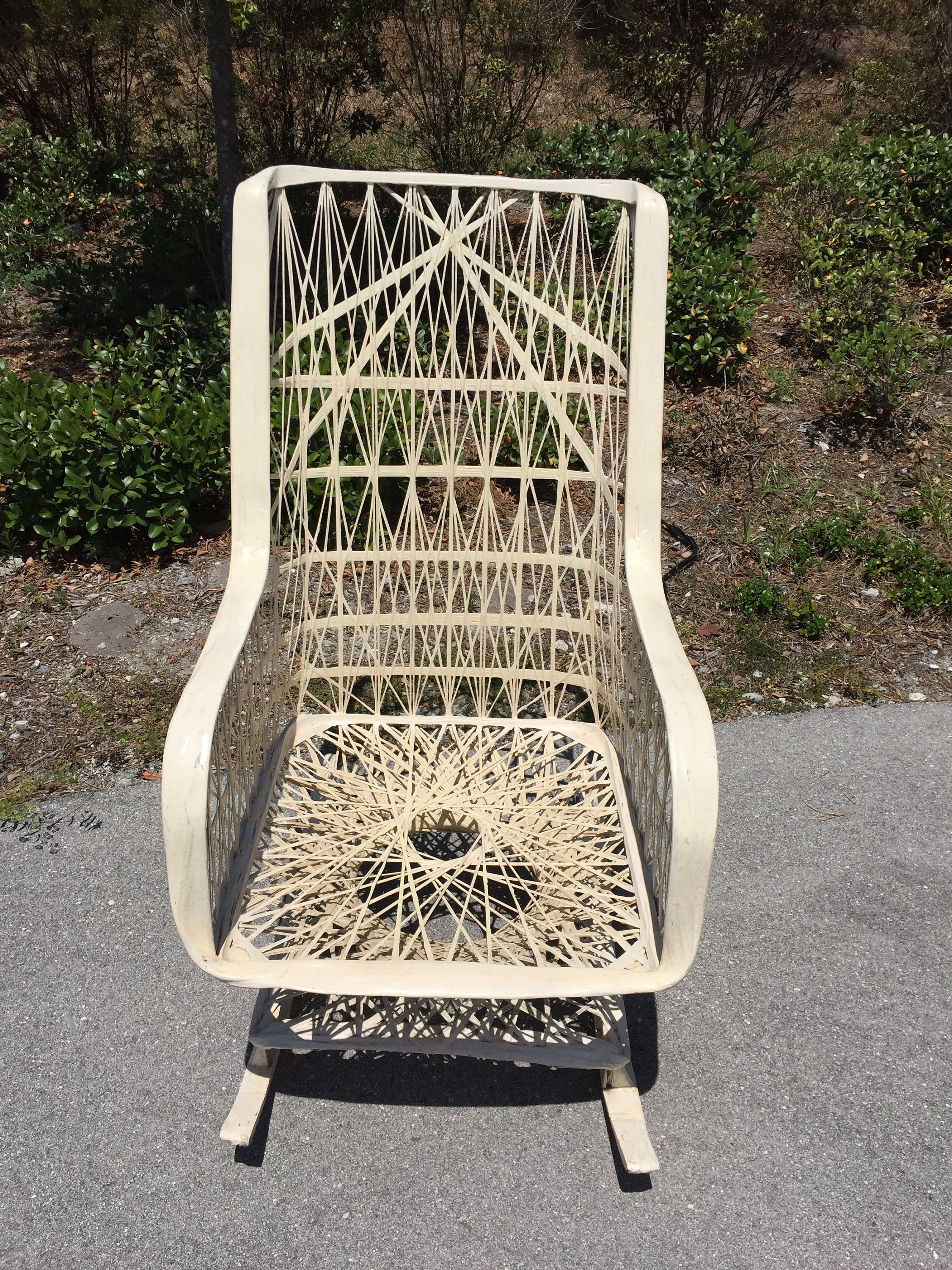 FALL SALE Russell Woodard Spun Fiberglass Rocking Chair
