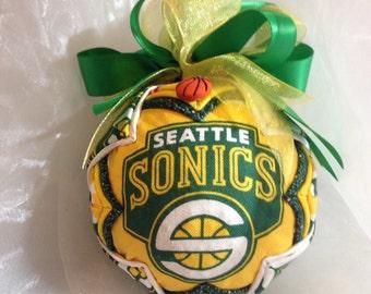 Seattle Sonics Everyday Ornament