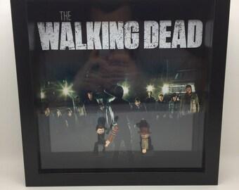 Lego The Walking Dead Minifigure Frame