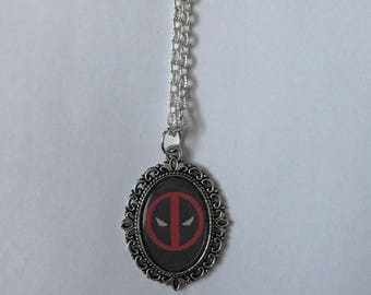 Deadpool Cameo Necklace, Two Designs To Choose From