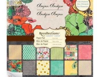 Recollections Bonjour Boutique Paper Pad