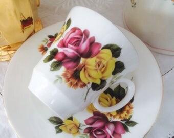 Gorgeous Royal Grafton Vintage Mug & Plate