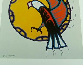 """Artwork By Late Mi""""kMaq Artist David Brooks"""
