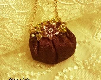dollhouse miniature hand bag / purse