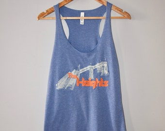 Jersey City Heights tank top -- Women's graphic tank