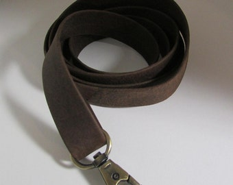 Leather purse strap, Brown Leather Strap, Handbag Strap, Replacement Leather Strap, Suede Leather strap, Suede Purse Strap, Strap