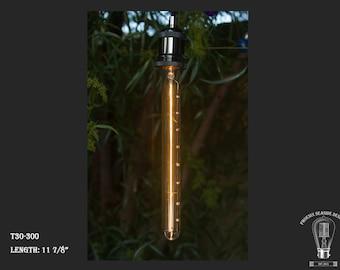 Vintage Edison Style Retro Tungsten Filament T30-300 - 110V/40W Bulb