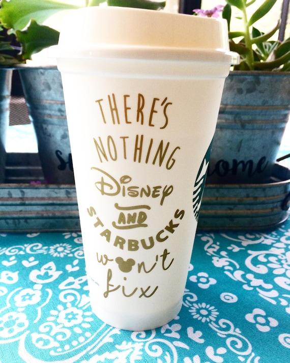 Disney & Starbucks Tumbler