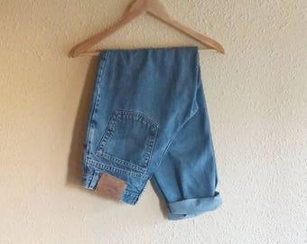 Vintage 90's Levi's 550 Blue Jeans
