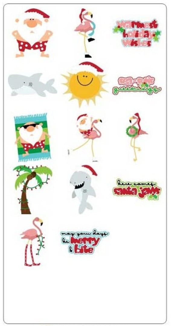 Warm Wishes Cut Set - Christmas Cutting Files for Cutting Machines - Includes PDF, SVG, A.I, E.P.S DXF- Layered Images with Instructions
