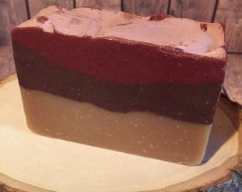 Hot Apple Pie Goat Milk Soap, Handmade Goat Milk Soap, Goat Milk Soap Bar, All Natural Milk Soap, Goat Gifts