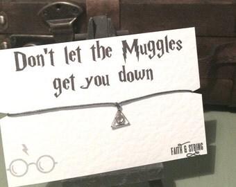 Harry Potter Gift Inspired Harry Potter Friendship Bracelet Best Friend Gift