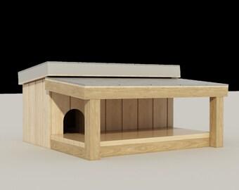 dog house plans | etsy