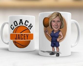 Basketball Gift for her, Basketball mom Gift Ideas, Basketball Christmas Gift, Basketball Coach Gift Ideas, Basketball Wife Mug