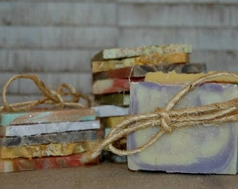 Trial Size Soap Sampler, Trial Size Soap, Handmade Soap