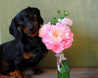Paper flowers bouquet, paper flowers decor, bridal flowers, ranunculus flowers, peony, home decor, small floral arrangement