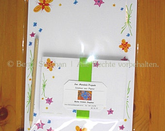 """Letter paper set """"Spring at last"""""""
