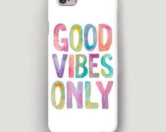 iPhone 7 Case Positive, iPhone 6 Plus Multicolor Case, iPhone SE Case, iPhone 5 Case, Good iPhone Case, Apple Accessory Case iPhone 6S White