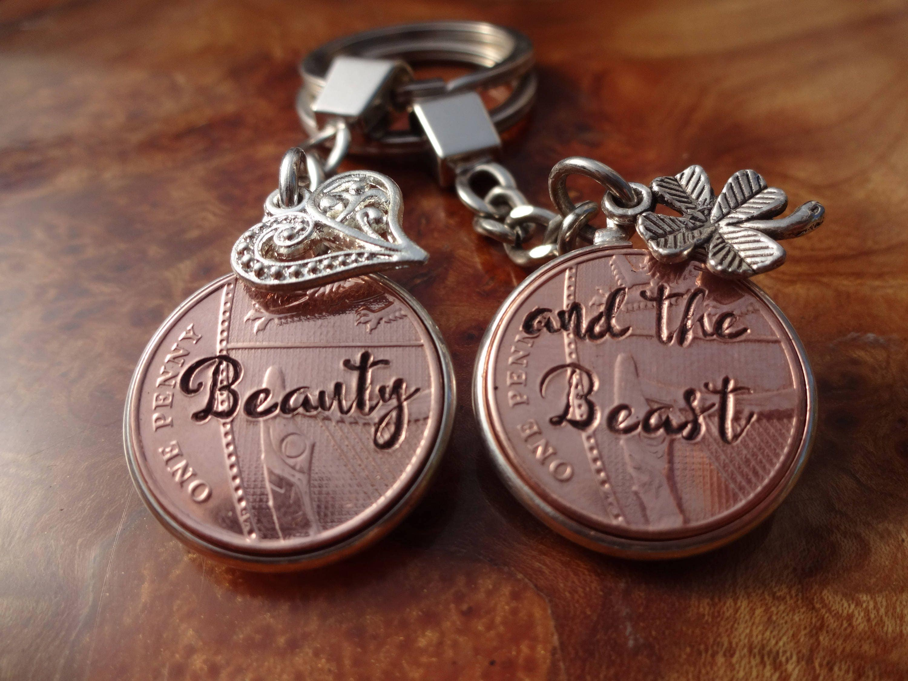 7th Wedding Anniversary Gift 2010 lucky copper Penny personalised ...
